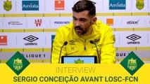 Sergio Conceição avant LOSC-FCN