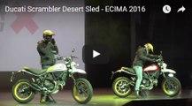 Ducati Scrambler Desert Sled - ECIMA 2016