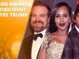 Les SAG Awards, tribune anti-Trump