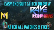 """Rave In The Redwoods Glitches - Exo Suit WORKING In Rave In Redwoods - """"Exo Suit Glitch In Rave In The Redwoods"""""""