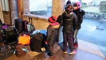 Départ pour le voyage scolaire au Loran / 30 janvier 2017