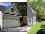 Amish Built Custom Garages Lancaster PA, Chester PA