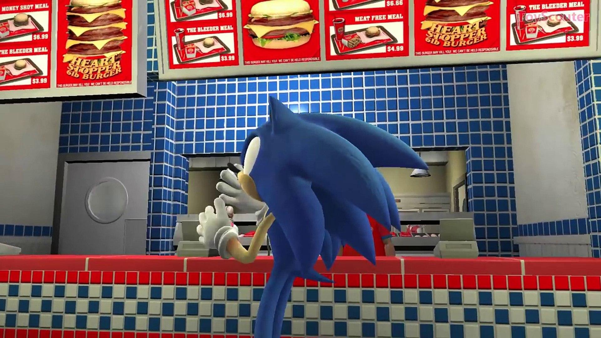 Sonic The Hedgehog Nursery Rhymes Disney Cars Lightning Mcqueen Adventure Kids Songs Video Dailymotion