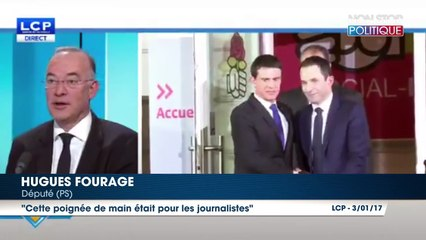 Benoît Hamon – Manuel Valls : Un député balance sur leur poignée de main glaciale