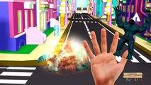 3D Godzilla Finger Family Nursery Rhymes | Hulk Finger Family 3D animated Cartoons for Children