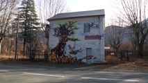 Hautes-Alpes : La gare de Chateauroux transformée en galerie street art