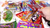 DIY Candy Survivor TACKLE BOX! Yummy SWEETS! Spicy Marshmallows Gummy Candies! FUN