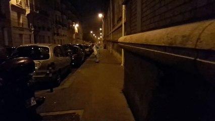 Passacorne dans les rues de Paris en octobre 2016 (1/3)