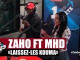 """Zaho """"Laissez-les kouma"""" feat MHD en live #PlanèteRap"""