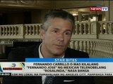 BT: Fernando Carillo ng Mexican telenobelang 'Rosalinda,' nasa bansa