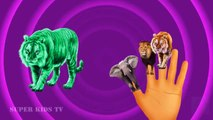 Finger Family Nursery Rhymes Animal Finger Family Songs Learn Wild Animals Rhymes For Babies