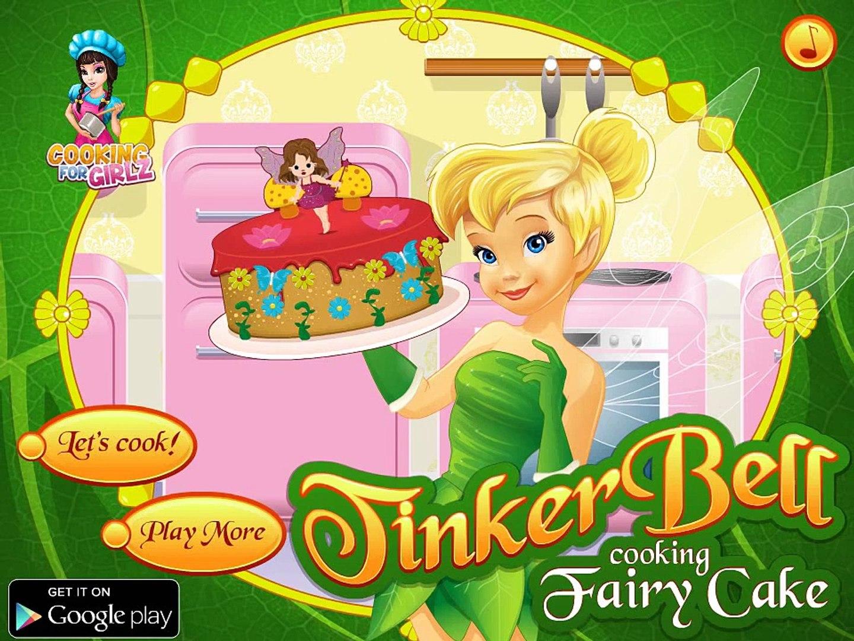 Динь Динь готовит торт! Игра для девочек про фею! Детская игра! Детские мультики! Kids video!