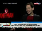 BT: Paul Rudd at Michael Douglas, proud sa kanilang roles sa 'Ant-Man'