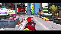 Red Hulk & The Incredible Hulk Smash Disney Pixar Cars & Lightning McQueen Nursery Rhymes Kids Songs