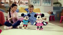 IMC Toys Disney Mickey Mouse Clubhouse My Interactive Friend Mickey & Minnie Mouse TV Toys