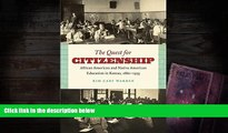 PDF  The Quest for Citizenship: African American and Native American Education in Kansas,
