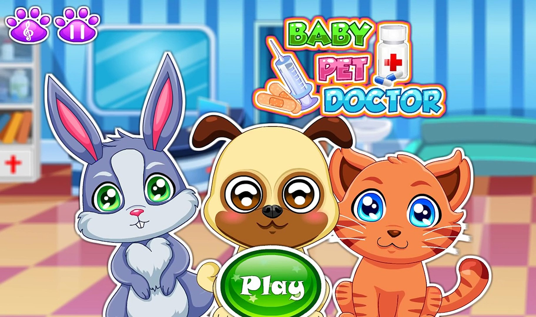Baby Games | Doctor Pets | Little Pet Doctor | Educational cartoon for kids | Android Gameplay