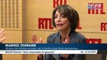 """Marisol Touraine attend de voir Benoît Hamon """"faire des gestes"""" pour rassembler la gauche"""