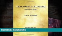 Audiobook  Teaching in Nursing: A Guide for Faculty, 5e Pre Order