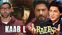 Shahrukh Khan RUDE Reaction To Kaabil vs Raees Clash  Raees 100 Crore Box Office Collection