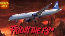 Flight 666 Lands in HEL On Friday The 13th! | Weird Asia