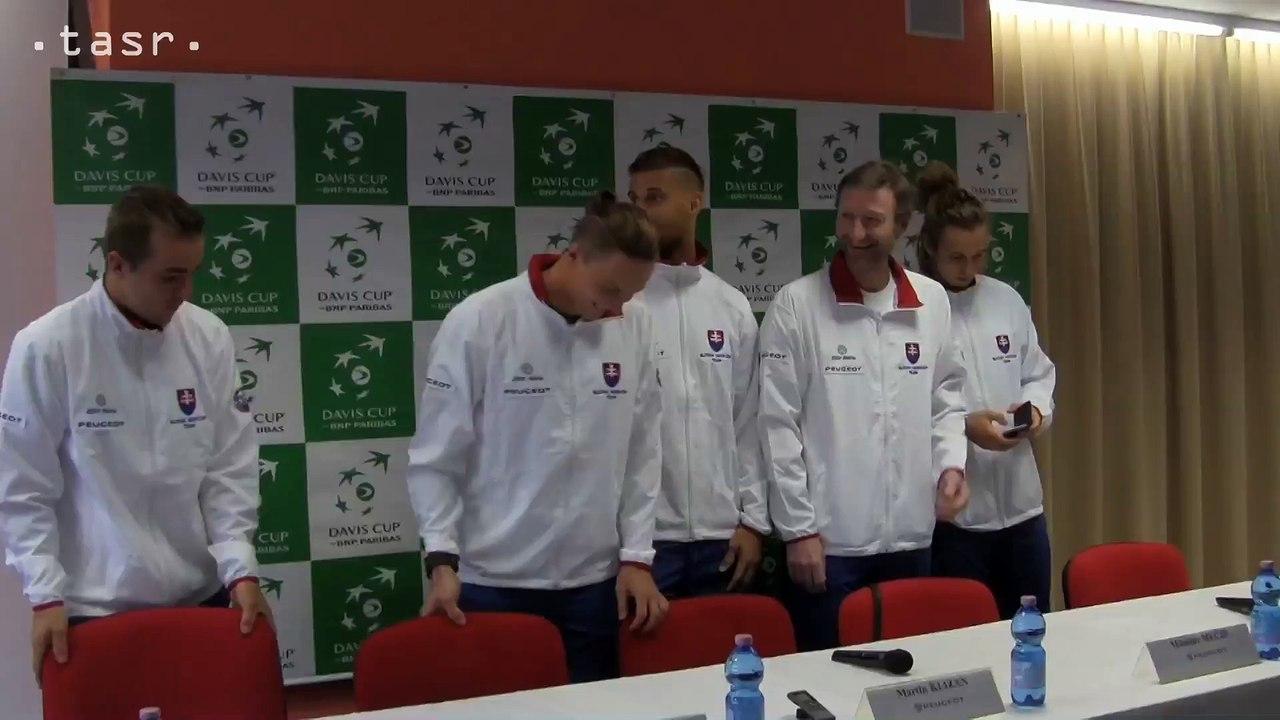 TENIS - DAVIS CUP: Slováci proti Maďarom v kompletnom zložení