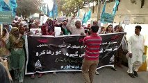 Protest Rally from Arts Council to Karachi Press Club 14-12-16
