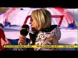 Alpine Skiing World Cup 2016-17 Women's SuperG Cortina d'Ampezzo 29.01.2017 Interviews Goggia Vonn