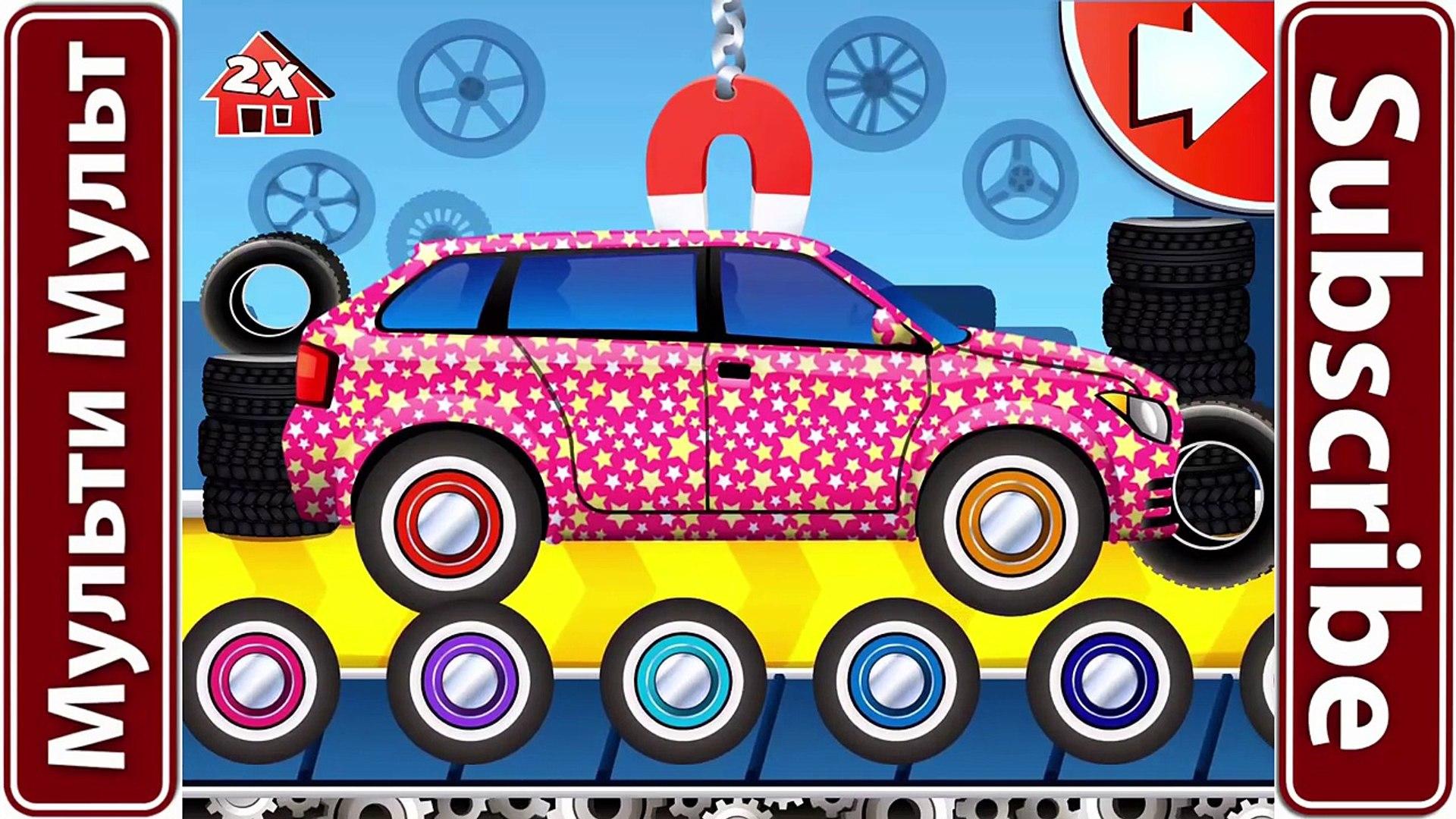 Мечта Автомобили Фабрика полиции автомобилей Лучший Ios игры приложение для детей мультфильм о служб