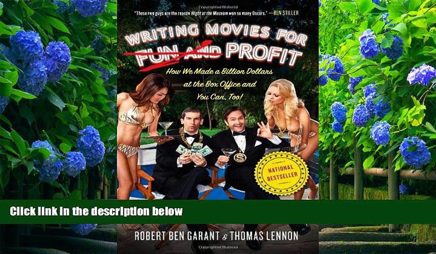 Download [PDF]  Writing Movies for Fun and Profit: How We Made a Billion Dollars at the Box Office