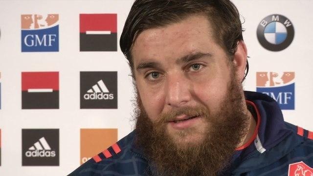 Rugby - Tournoi des 6 Nations - Bleus : Chiocci «Un gros combat»