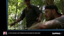 A l'état sauvage : M Pokora, à bout de force, se fait recadrer par Mike Horn