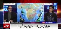 Absar Alam aik Ghatia aur 2 number admi hai - Dr Shahid Masood grills Absar Alam in live show