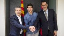 """Pablo Álvarez: """"Estic molt content per allargar aquest somni i poder seguir quatre anys més"""""""