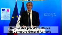 Discours de Stéphane Le Foll lors de la remise des prix d'excellence du CGA