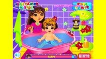 Dora The Explorer Doras Babysitting Game Dora Games