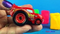 Playdoh Surprise Eggs Unboxing Disney CARS Lightning McQueen Fineas Ferb Perry Platypus MLP