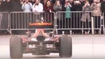 Vídeo: exhibición de Daniel Ricciardo para celebrar un nuevo patrocinador