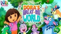 Дора исследователь Дора большой большой мир Часть 1 игры для детей полный HD детские видео