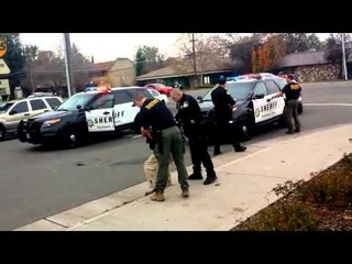 Man Asks Cop Nicely to Stop Blocking Traffic, So the Cop Beat Him and Stomped his Head