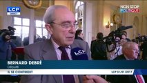 François Fillon : Bernard Debré le défend avec des déclarations contradictoires