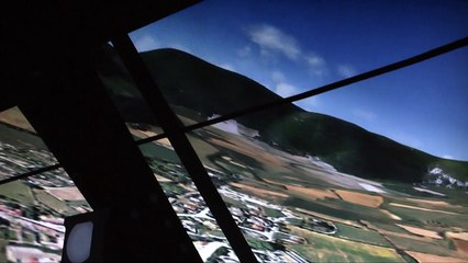 Nant Video gaming flight simulator