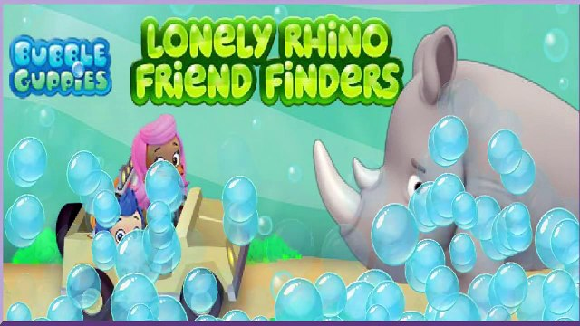 Bubble Guppies Games - Bubble Guppies Lonely Rhino Friend Finders - Nick Jr Games