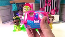 Disney Princesses Get Slimed in Toilet Accident! Toy Surprises and Stop Motion!