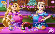 Elsa and Rapunzel Pregnant BFFs - Disney Princesses Game - Caring & Dress Up Gam