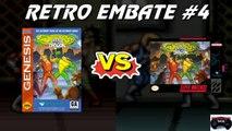 Retro Embate #4 - Battletoads & Double Dragon: The Ultimate Team (Mega Drive vs Super Nintendo)