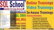 How to Connect to SQL School 24 x 7 LIVE Server | Excellent Realtime SQL Server T-SQL (Dev), SQL DBA, MSBI Trainings