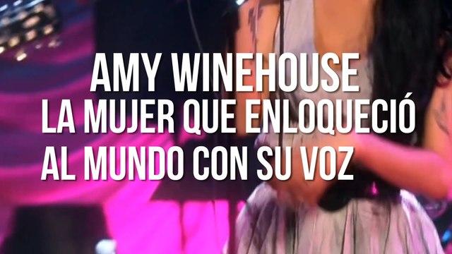Amy Winehouse la mujer que enloqueció al mundo