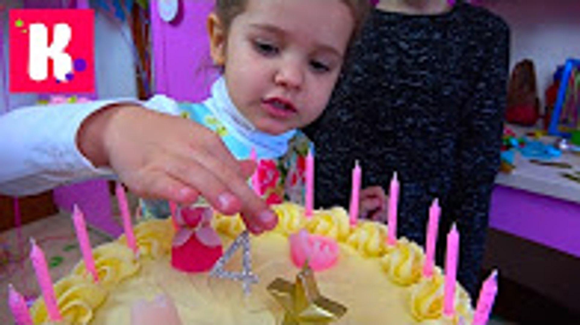 День рождения Кати 4 года Шоколадные туфли Лабутэны Шикарная машина Порше и Мир