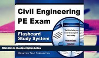 Read Online Civil Engineering PE Exam Flashcard Study System: Civil Engineering PE Test Practice